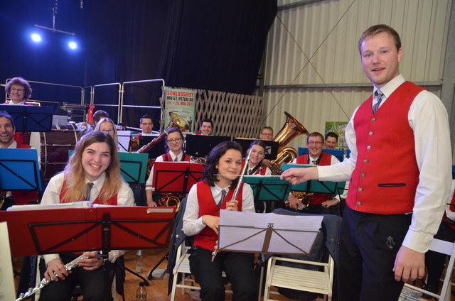 Kapellmeister Robert Wieser vom Musikverein St. Peter in der Au