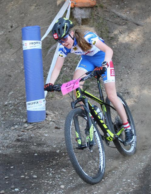Laura Stigger hatte die Konkurrenz bei ihrem Heimrennen voll im Griff.