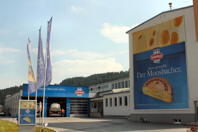 Die Berglandmilch steht unter anderem für die Marke Schärdinger.