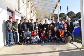 Rund 30 Asylwerber aus dem Großraum Wolfsberg beteiligten sich freiwillig bei der Aktion