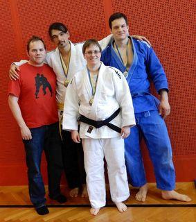 Allgemeine Klasse: Markus Betz, Sayed Javad Husseini, Christian Anzböck und Diana Berner
