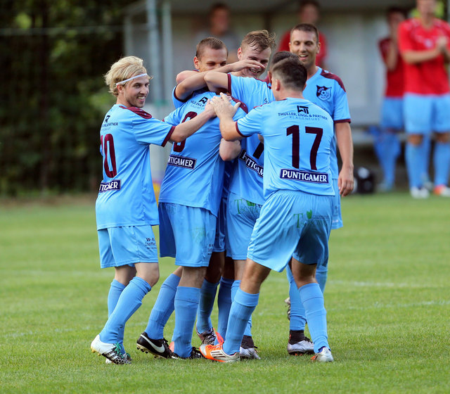 Spiel gedreht - Der Askö Wölfnitz machte im Derby gegen den SC Ulrichsberg aus einem 0:1-Rückstand noch einen 2:1-Sieg