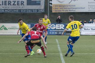 Der DSC fand gegen Kalsdorf den Weg aus der Minikrise und holte drei wichtige Zähler im Kampf um den ÖFB-Cup.