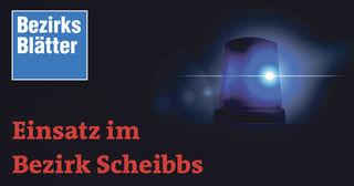 Einsatz im Bezirk Scheibbs: Schubraupe in Purgstall aufgebrochen.