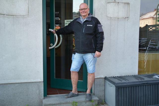 Christoph Karner eröffnet sein Wirtshaus am 28. April.