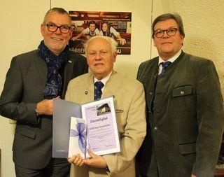 Von links: Alfred Atteneder, Hans Hennebichler, Josef Lindner.