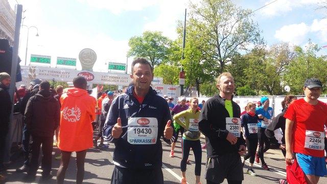 Der Rotenturmer Roman Takacs erreichte in seiner Altersklasse Platz 498.
