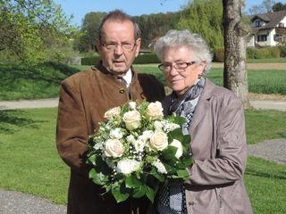 Ludmilla und Franz Pußwald feierten die Diamantene.