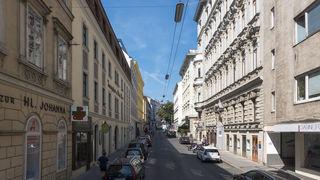 Von oben nach unten mit dem Rad: Die Stadt Wien übernimmt die Finanzierung des Radwegs.