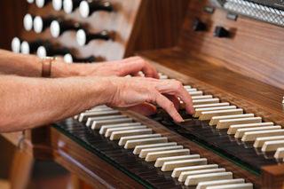 Orgelspiel (Symbolfoto)