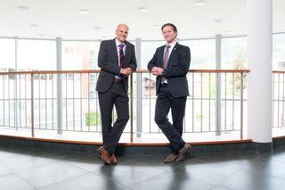 Geschäftsführer Christian Kappacher (li.) mit dem Vorsitzenden der GF Christian Kappacher.