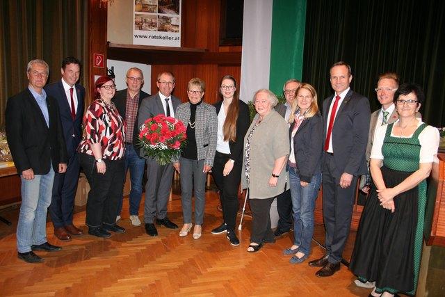 Bgm. Bernd Osprian wurde als SPÖ-Stadtparteivorsitzender in Bärnbach bestätigt.