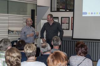 Robert Brandstetter (li.) mit ÖAAB-Obmann Günter Lorenz.