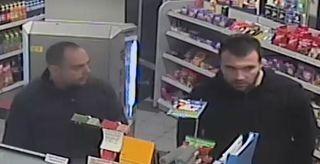 Wer kennt diese beiden Männer? Die Polizei bittet um Hinweise