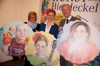Margit Straßhofer, Stephanie Balih und Karl Schwarz
