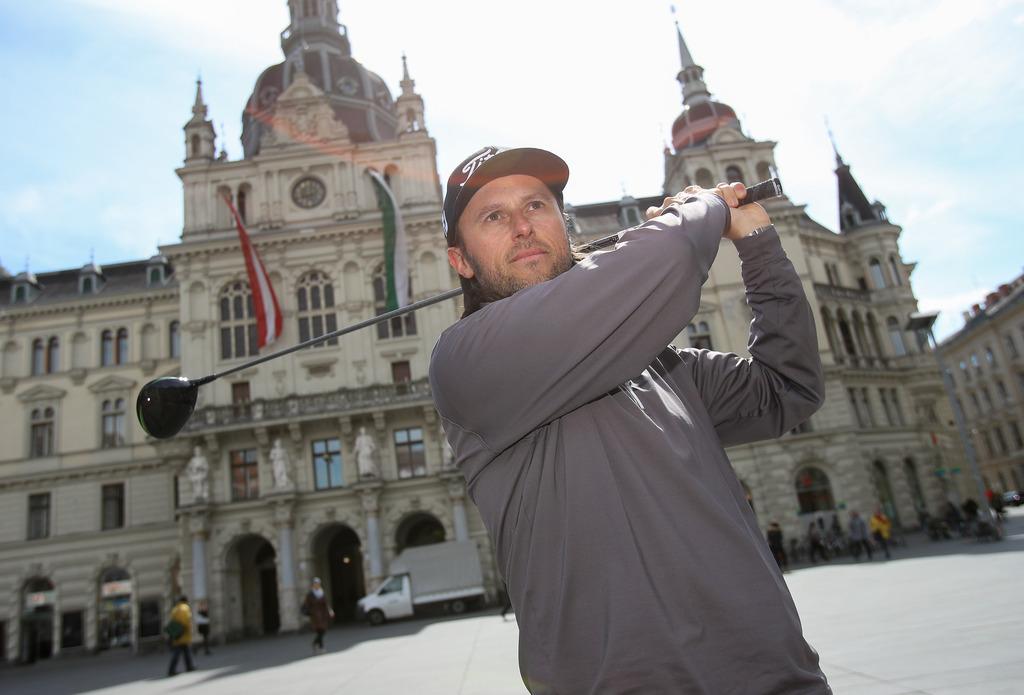Der Grazer Golfer Martin Wiegele hat die European Tour noch nicht aus den Augen verloren.