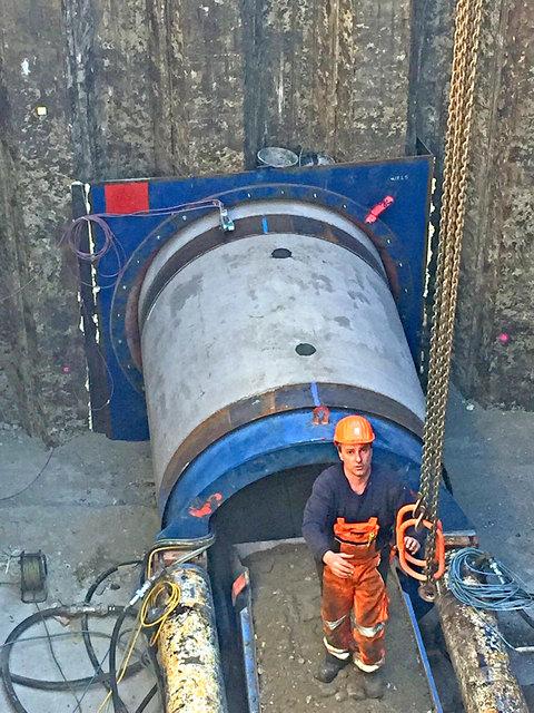 Eine derartige Baustelle mit Tunnelbauweise gibt's in Graz zum ersten Mal.