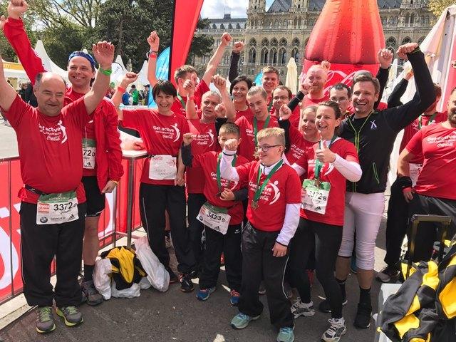 AthletInnen und TrainerInnen vom Team Dornau
