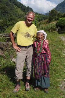 Helmut Pichler ging mehrere 100 Kilometer zu Fuß.