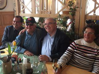 Baba, Joe: Canada Joe Hirnschall (2.vl) mit Friedrich Forsthuber, Minister Wolfgang Brandstetter und Gattin Elfriede.