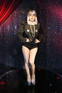 Lady Gaga, Madame Tussauds, Wien, www.madametussauds.com/Wien Tel: +43 1890 3366
