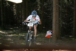 Tobias Breitschädel ist einer der österreichischen Elite-Fahrer. 2012 holte wurde er MTBO-Weltmeister im Sprint.