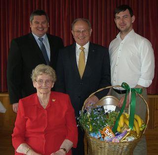 Christine Harfmann feierte ihren 85. Geburtstag in Scharndorf