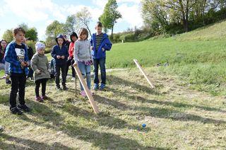 Die Kinder hatten sichtlich spaß beim Ostereierscheiben - veranstaltet durch die FPÖ Ortsgruppe Loipersdorf.