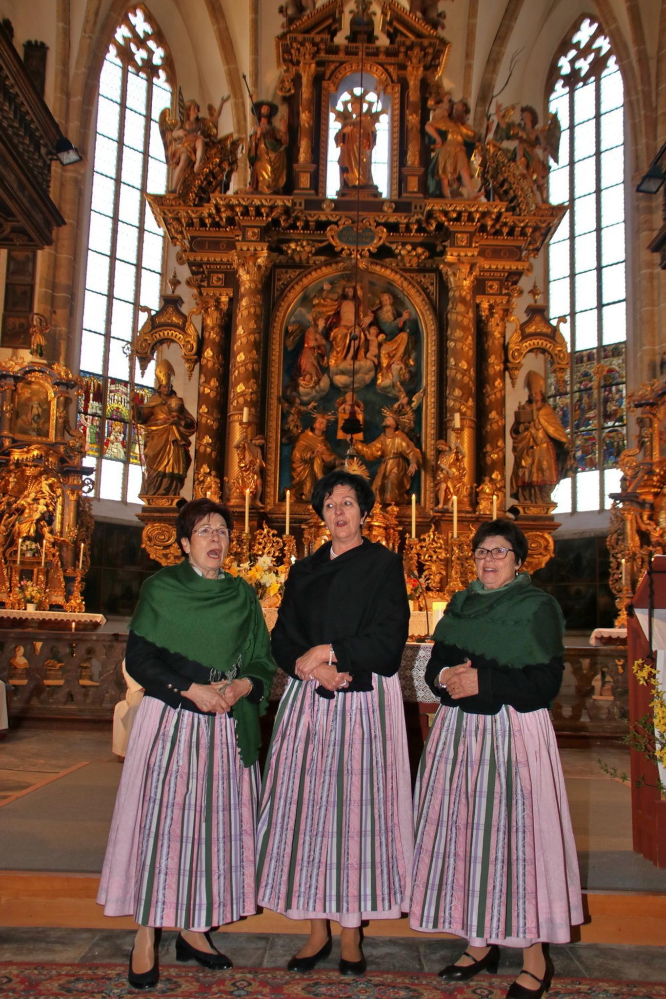 Frauen Dreigesang Treffen in Tamsweg - Lungau