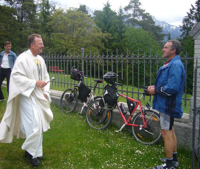 Pfarrer Georg Schödl lädt am Samstag, 13. Mai zur Radsternwallfahrt.