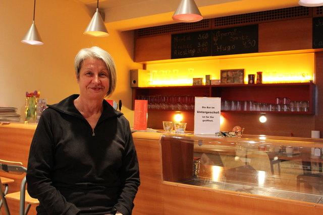 Barbara Klein gibt 2018 die Leitung des KosmosTheaters ab und geht in Pension.