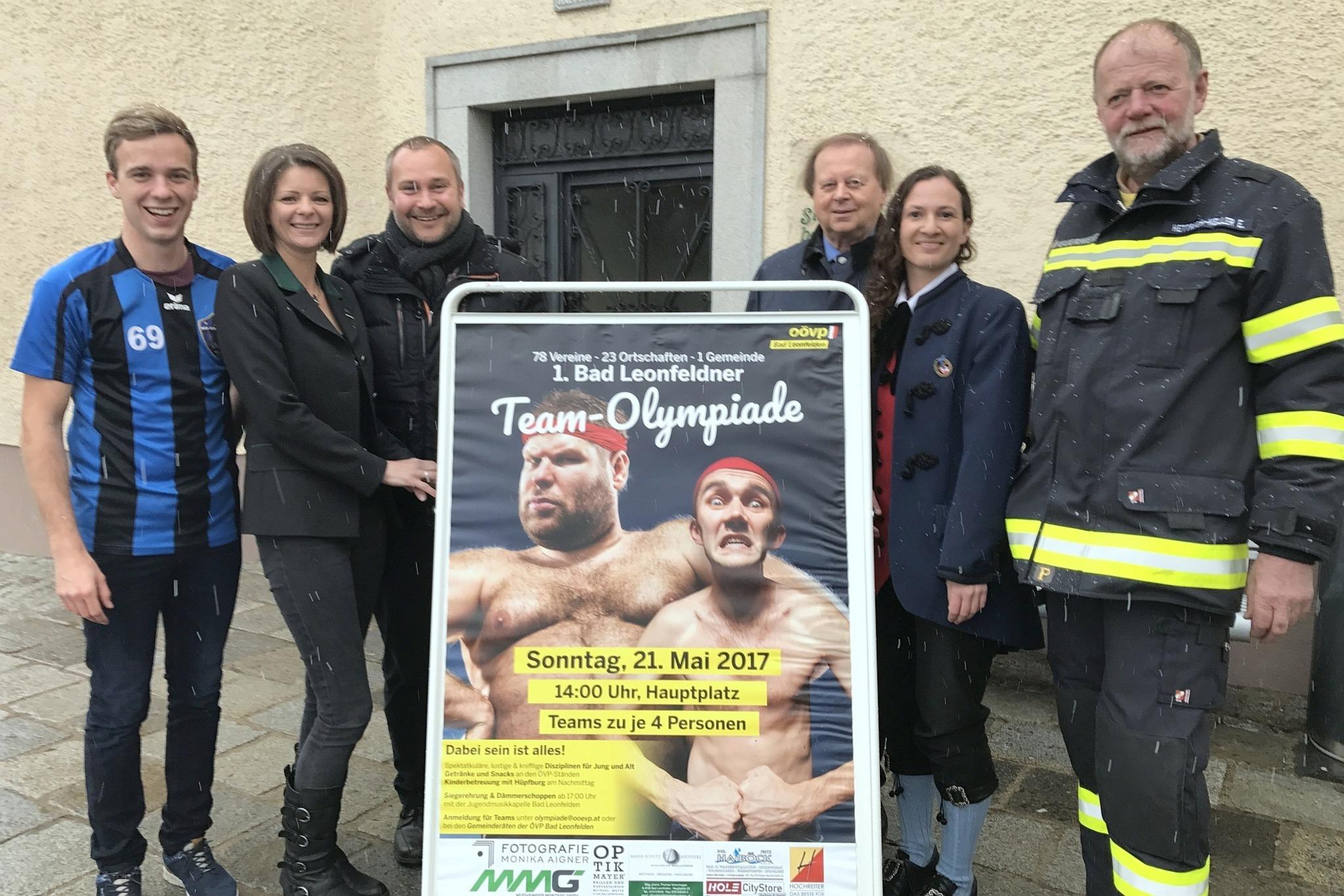 Bad Leonfelden lädt zur ersten Team-Olympiade - Urfahr-Umgebung