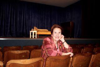 Für Theaterchefin Sissy Boran sind die letzten 35 Jahre im Flug vergangen.