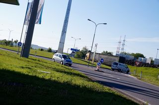 In Loosdorf zählten wir in einer Stunde 563 Autos.