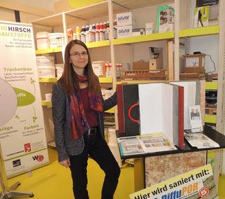 Architektin Verena Hirsch im Bio-Innovationszentrum