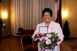 Marika Beck-Sobotka wurde am 11. Mai mit der Ehrenmedaille der Stadt Wien ausgezeichnet