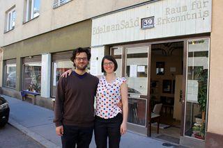"""Elisabeth Öfner und Samer Schaat haben Mitte Oktober 2016 das """"EdelmanSaid"""" in der Halsingergasse 39 eröffnet."""