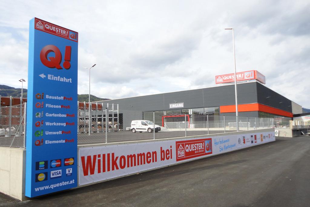 Bauprofi Quester Eroffnet Neuen Standort In Leoben Ost Leoben