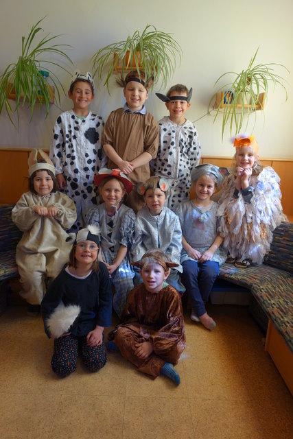 Die Kinder haben bereits viel geprobt und Lieder einstudiert.