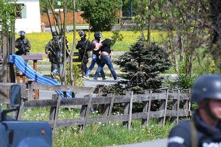 Nach über fünf Stunden konnte der Geiselnehmer in der Raika Erpfendorf festgenommen werden.
