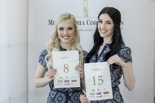 Magdalena Leitner (8) mit Miss Styria Andrea Jörgler. Foto: MAC/Gerry Frank