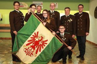 Am 21. Mai, wird die Fahne der Schützengilde Imst feierlich eingeweiht.