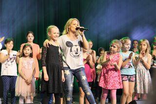 Schlagerstar Michelle Schloßbergfest Graz Schloßberg Kasematten Schloßbergbühne Konzert