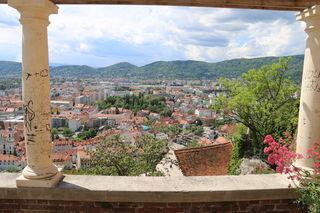 Blick über die Dächer von Graz