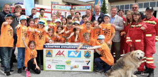 Gewonnen! Die Volksschule Villach-Lind vertritt Villach bei der Sicherheits-Landesmeisterschaft