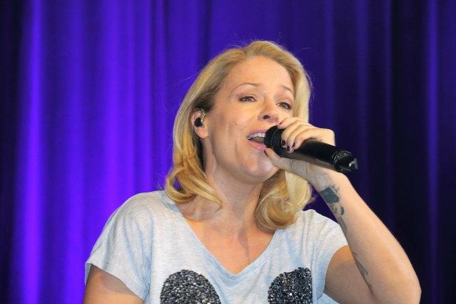 Schlagerstar Michelle, Schloßbergfest, Graz, Kasemattenbühne