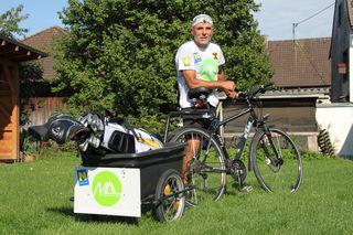 Christian Thalhammer ist von 19. bis 22. Juni in Oberösterreich für den guten Zweck auf Golfplätzen unterwegs.