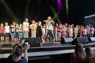 Schlagerstar Michelle beim Grazer Schloßbergfest 2017, Kasemattenbühne, Graz