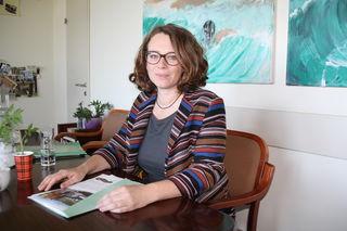 Stadträtin Eva Schobesberger sieht in Linz eine positive Entwicklung im Umweltbereich, aber auch noch viel Arbeit.