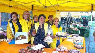 Gemeinderätin Eleonore Kopf, Stadtpartei-Obfrau Andrea Völkl, Monika Handschuh, Christa Niederhammer und Barbara Zemsauer.